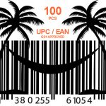 100 pcs GS1 UPC and EAN codes for Amazon and Ebay