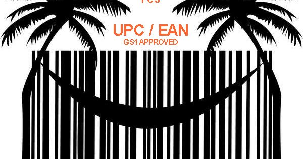 10 pcs GS1 UPC and EAN codes for Amazon and Ebay